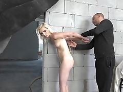Decadent Beau Is Penalizing Twat Of Tied Up Blondie Gf Tyna Gold