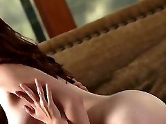 Adorable Youthful Ginger-haired Beauty Melody Jordan Wiht Flawless Bod Has Sensuous Fantasy With Her Jaw-dropping Paramour