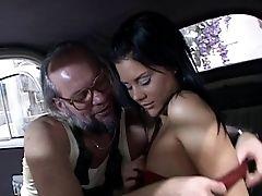 Crazy Old Bearded Mechanic Fucks A Beautiful Female