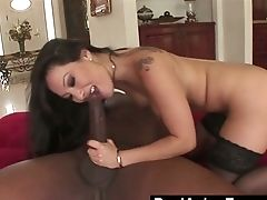 Lewd And Voracious Asa Akira Is Ready To Take Fat Big Black Cock Into Her Both Fuckholes