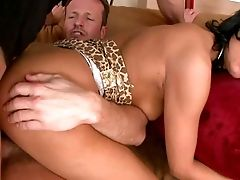 Rod Greedy Suntanned Black Haired Nymphomaniac Bitch With Smoking Hot