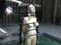 Hard-core Chastisement For Matures Hooker Rain Degrey Under The Water