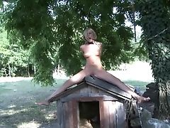 Hd Movie Of Outdoors Torment Session With Sexy Blonde Dona Bell