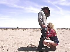 Wild Outdoors Hookup With Natural Tits Blonde Anikka Albrite. Hd