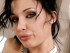 Aletta Ocean With Massive Breasts Does Her Best To Turn You On In Solo Scene