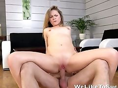 Lovely Teenager Elizabeth Gets Her Cootchie Fucked In Different Positions