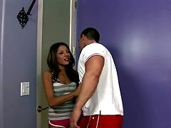 Evilyn Fierce Is A Bad Chick Skipping School. Stud's Visit