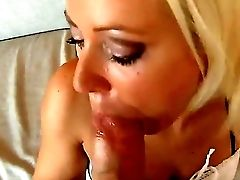 Blonde Honey Bibi Fox Just Cant Treat The Size Of The Humungous Schlong Of Her Bf