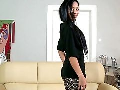 Raven Haired Nymph Bailey Is A Youthful Chick That Gets