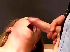 Harsh Office Hook-up With Blonde Anna Darling