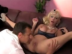 Pervy Stud Fucks Huge-titted Ash-blonde Housewife Natasha Juja In Mish And Rear End Posse Rough