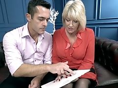 Matures Woman Rosemary Is Making Love With Her Youthful Hot Blooded Paramour