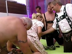 Stepmom Gets Fisted At The Group Sex Orgy