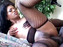 Tremendously Hot Black Chick Sydnee Capri Loves Assfucking
