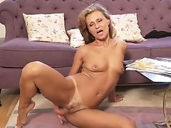 Matures Housewife Bonita Is Pleasing Her Charming Spread Gash