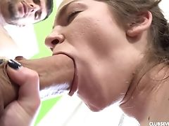 After Mini Vanilli Gives Fellatio To A Friend, She Is Ready To Hop On His Manstick