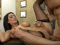 Gorgeous Dark Haired Jessica Jaymes With Brilliant