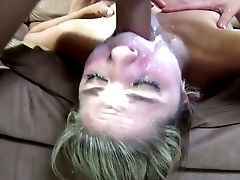 Wild Petite Blondie Lia Lor Let Her Stud Fuck Her Lil' Mouth Rough