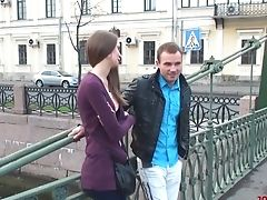 Unexperienced Woman From St Petersburg  Takes Jizz Flows On Booty On The Very First Date
