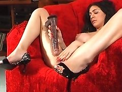 Nasty First-timer Mai Bailey Spreads Her Gams To Masturbate. Hd