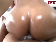 Letsdoeit - Hot Colombian Maid Goes From Cleaning Room To Cleaning Jizm