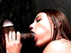 Gloryhole Interracial For Slender Adria Rae