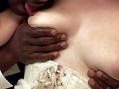 Sammy Grand Is A Fuck-fest Greedy Milky Lady. Black-haired With