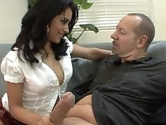 Enticing Lass Gets Her Hirsute Twat Boinked With A Massive Shaft