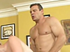 Pretty Blonde Nora Skyy And The Stiff Dick Of Her Fresh Matures Friend