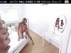 Three School Breezies Sharing Your Dick