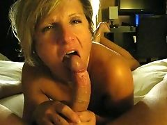 Aunt-in-law Sucking Dick