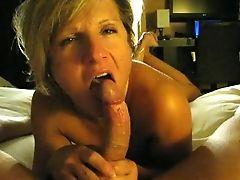Aunt-in-law Sucking Dick