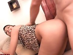 Big Tits Black-haired Mummy Pick Up Fuck