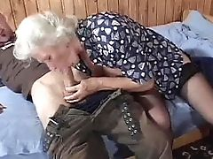 Granny Gets Laid With A Junior Gent