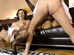 Youthful Gal Joins Her Mom In XXX
