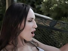 Bebe With Sexy Gams Lilu Moon Gives Her Head And Takes Cum Shots On Toes