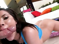 Enormous Fake Penis Is Caressing A Hot Bum