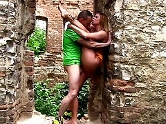 Escapade At The Castle With Curvy Backside Chrissy Fox