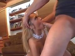 Attractive Blonde Honey Trina Michaels With French Manicure And Purrfectly